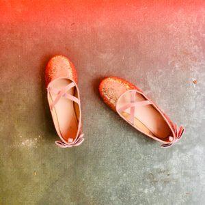 Glitter aan je voeten