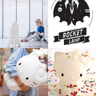 Hello Kitty-lamp en Rocketlamp