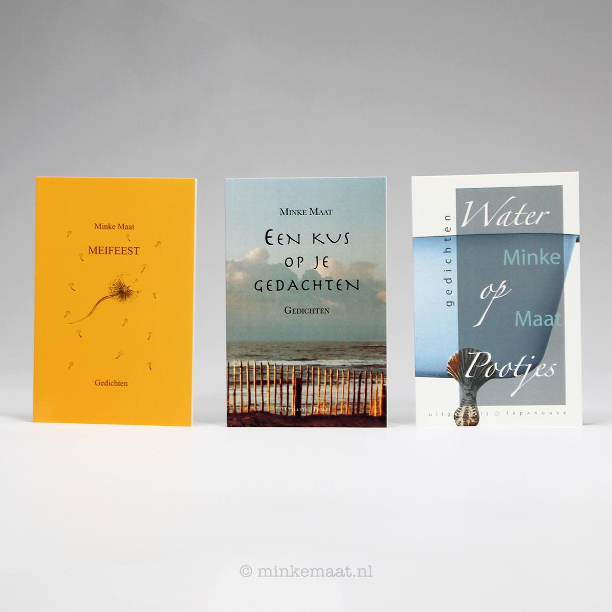 Meifeest - Een kus op je gedachten - Water op pootjes | boeken van Minke Maat