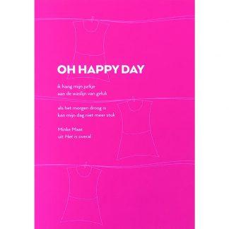 kaart oh happy day enkel