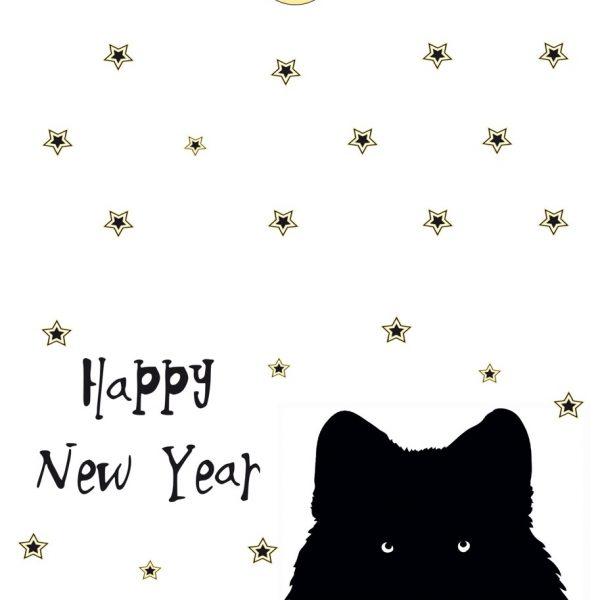 Happy New Year - Wolf