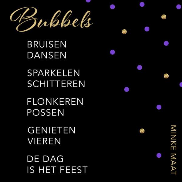 Bubbels - Minke Maat