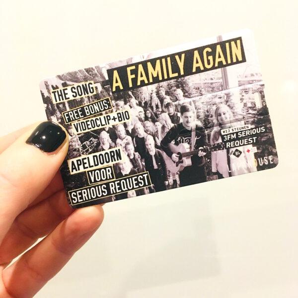 A family again op usb-card