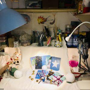 In een magisch atelier