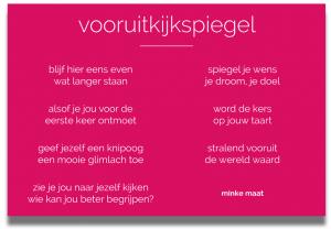 vooruitkijkspiegel, Minke Maat