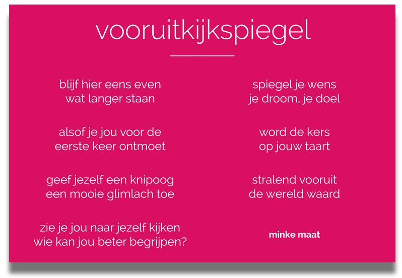 Vooruitkijkspiegel - voor de Beautybank - Minke Maat