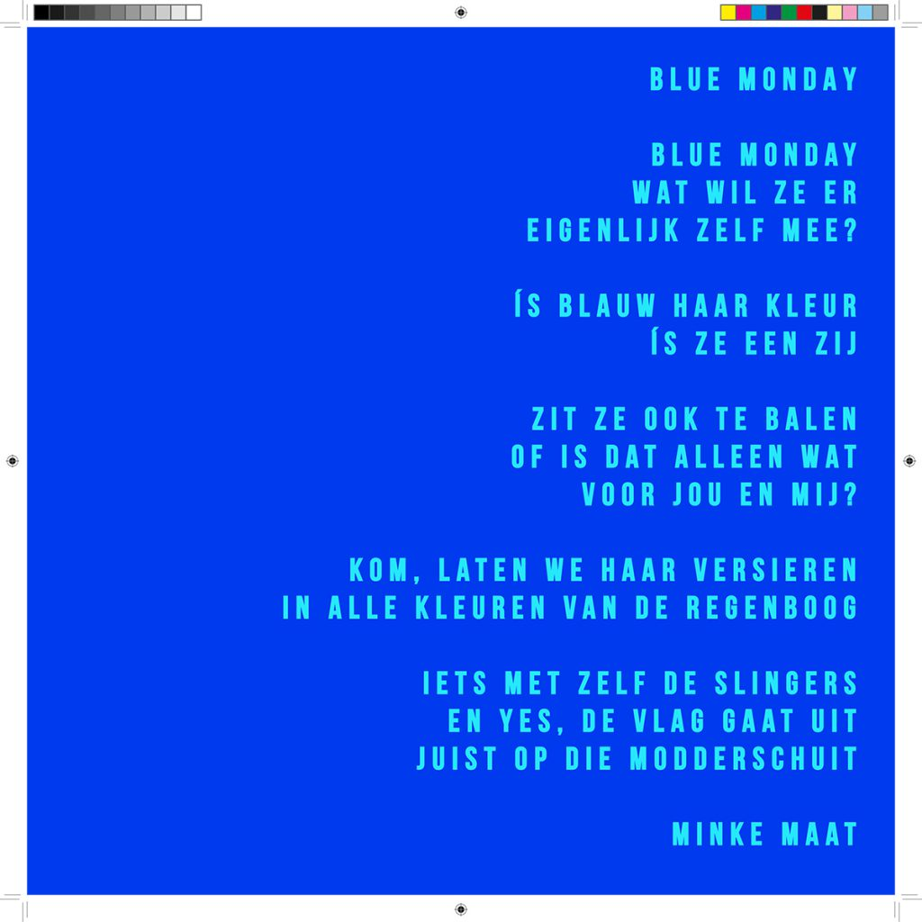 Blue Monday - Minke Maat